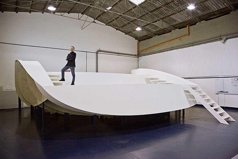 Perini Navi E-volution 47m sailing yacht model