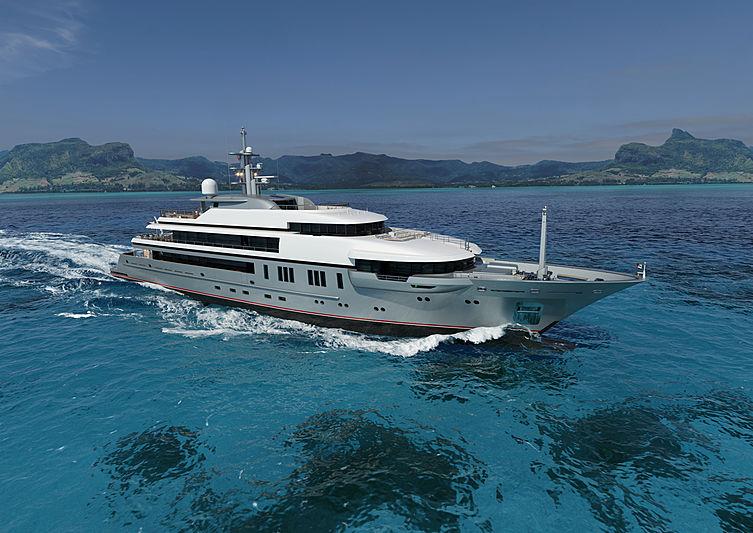 VSY 64m exterior design