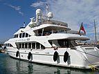 Andiamo yacht in Port Vauban