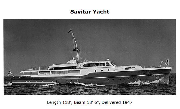 Savitar yacht cruising