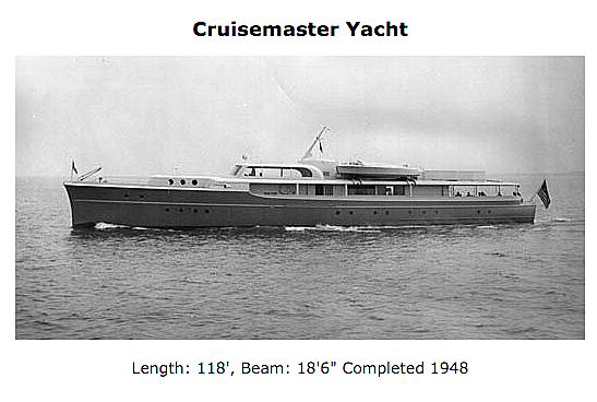 Cruisemaster yacht