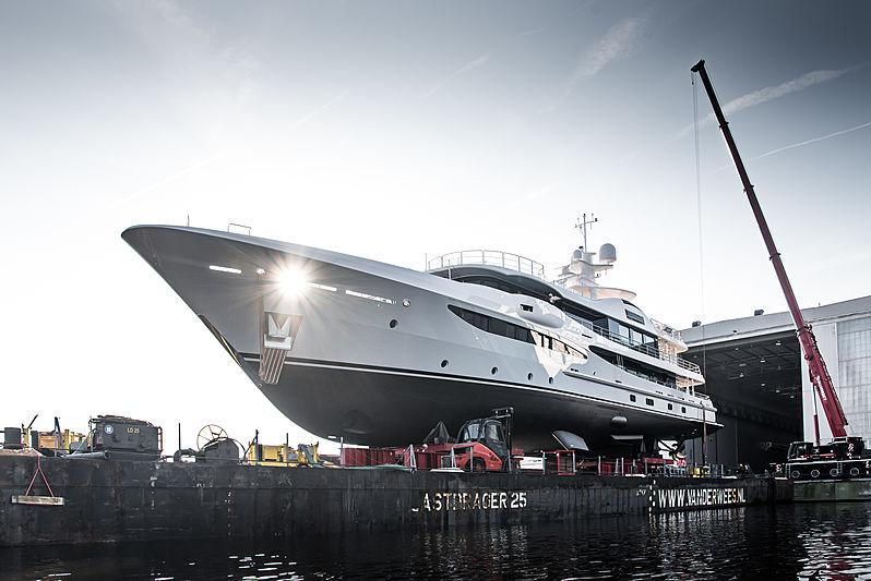 Amels Hull 473 launch in Vlissingen