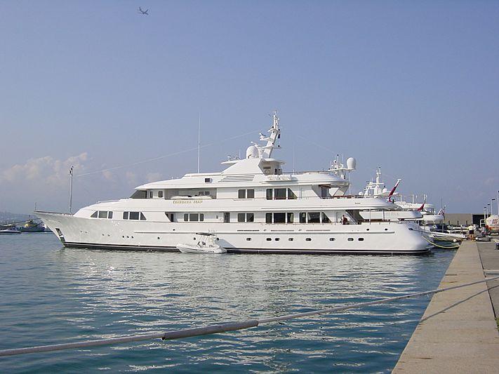 Barbara Jean yacht in Antibes