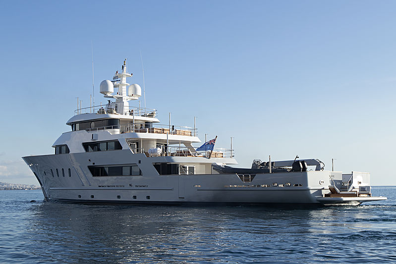 Aspire yacht anchored