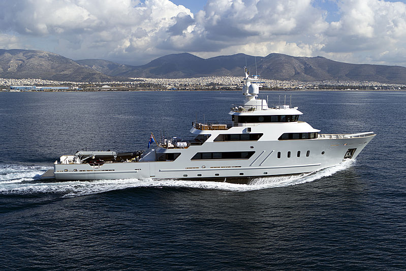 ASPIRE yacht Penglai