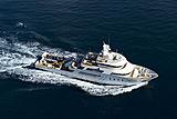 Aspire yacht running
