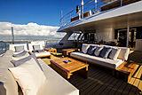 Aspire yacht upper deck