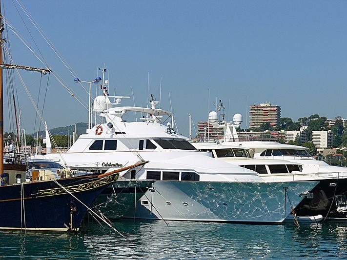 CELEBRATION yacht Denison