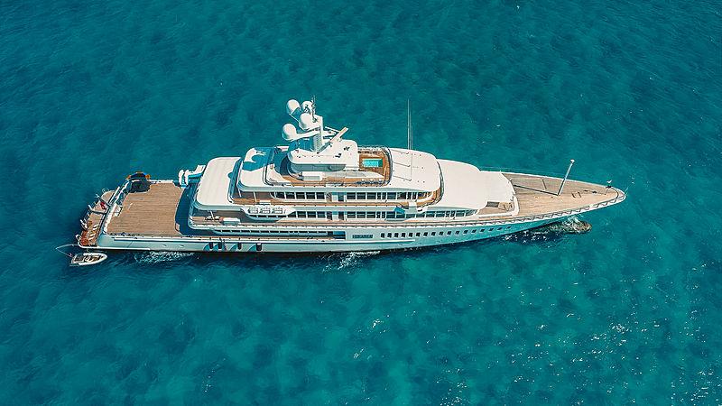 Fountainhead yacht by Feadship in Bahamas