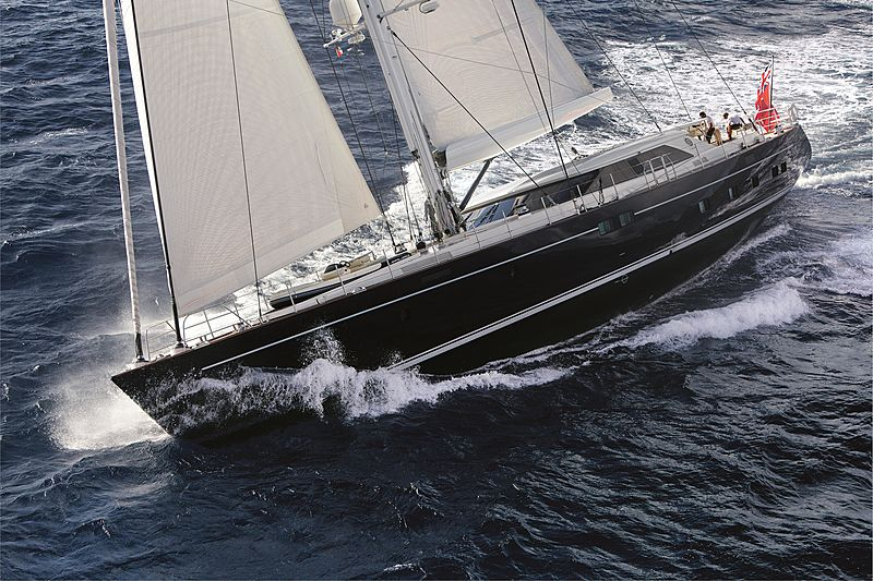STATE OF GRACE yacht Perini Navi