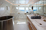 Broadwater yacht bathroom