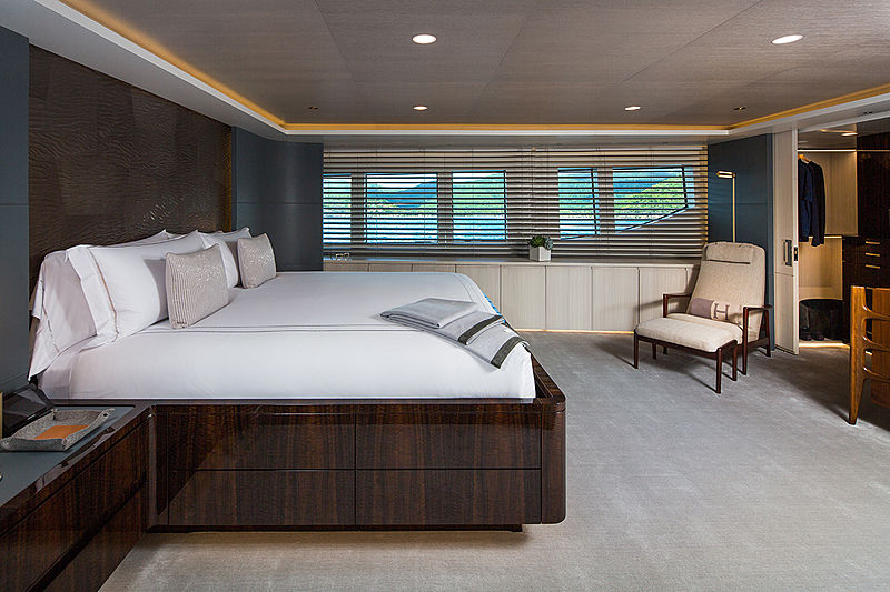 Broadwater yacht master cabin