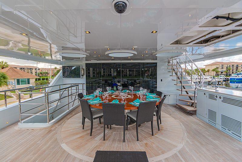 Serenity yacht deck