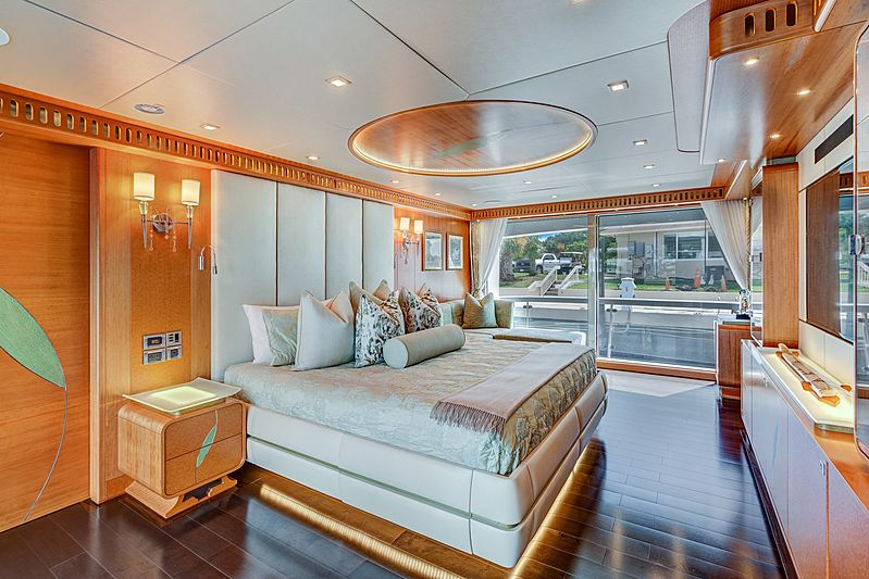 Serenity yacht master cabin