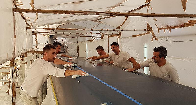 Thraki Yacht Painting marketing