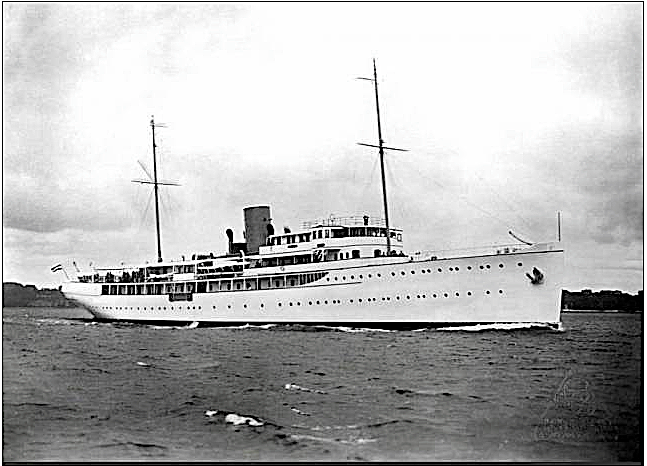 Mystery Yacht February