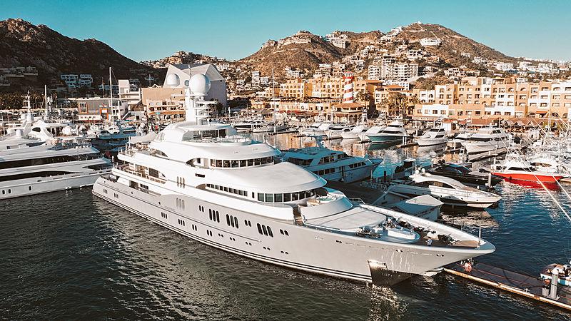 ROCINANTE yacht Lürssen