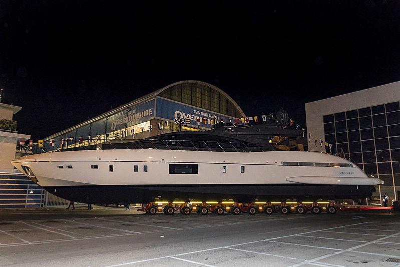 Mangusta 110/04 launch in Viareggio