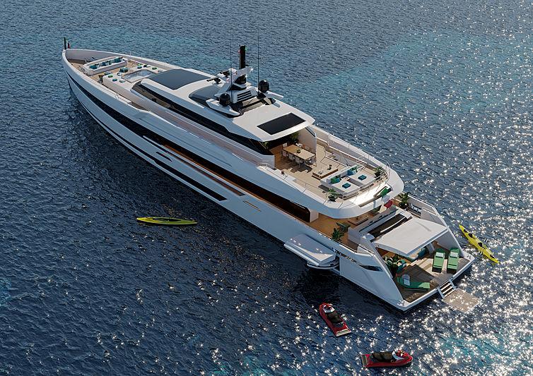 Columbus Sport 50M yacht exterior