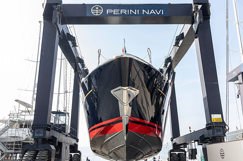 Perini Navi Eco-Tender launch