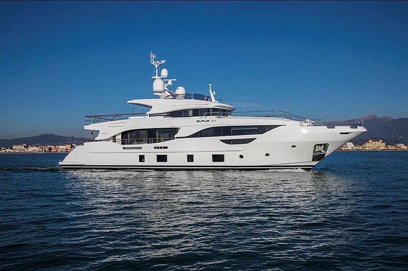 Eurus yacht cruising