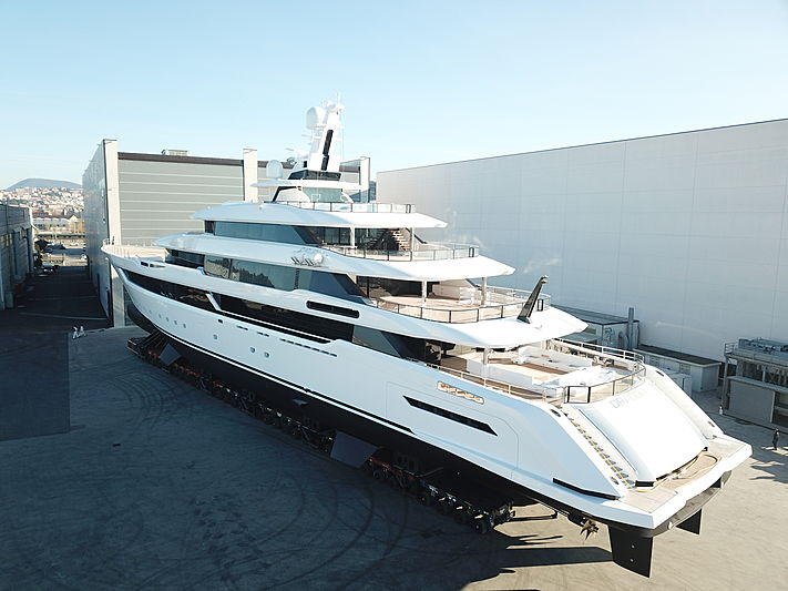 Dragon yacht rolled out in Ancona