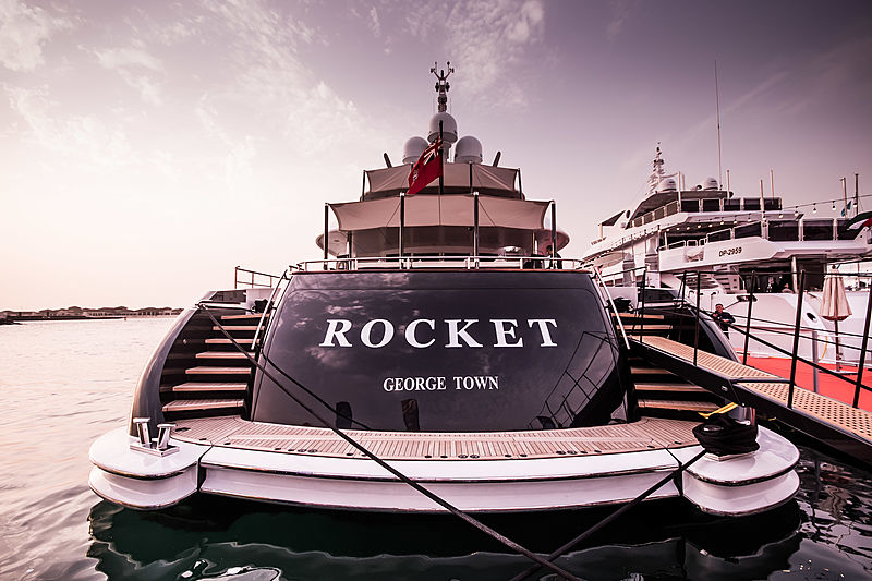 Rocket at Dubai International Boat Show 2019
