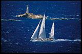 Nariida yacht carbon fibre sails