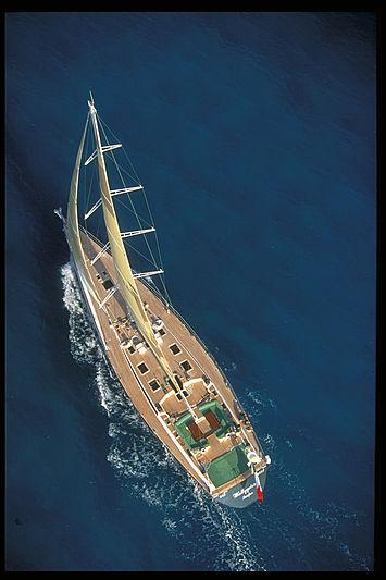 Wallygator yacht carbon fibre mast