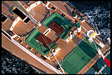 Wallygator yacht cockpit