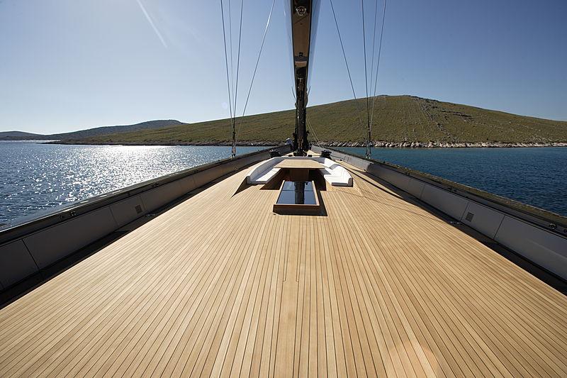Esense yacht deck