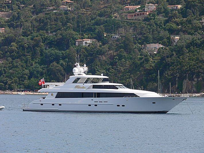 Paladin yacht anchored in Théoule-sur-Mer