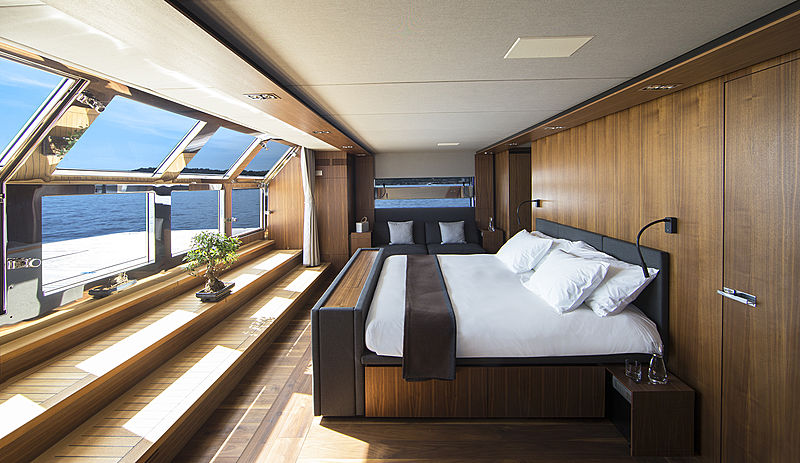 Wally Ace yacht owners suite
