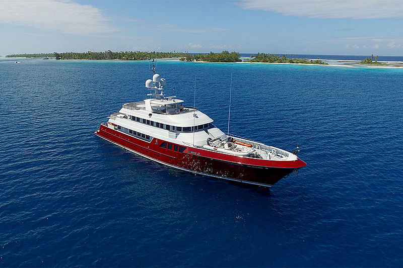 QING yacht Cheoy Lee