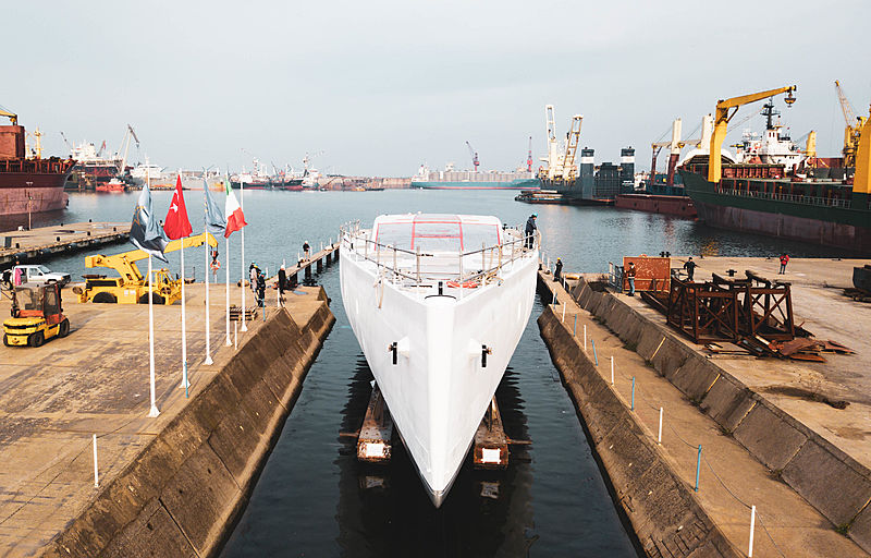 Perin Navi 42m E-volution yacht in Yildiz, Turkey