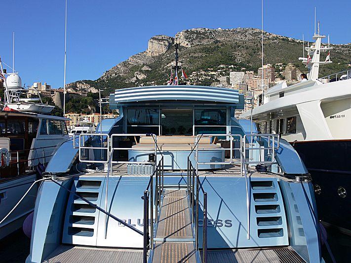 Blue Princess Star yacht in Monaco