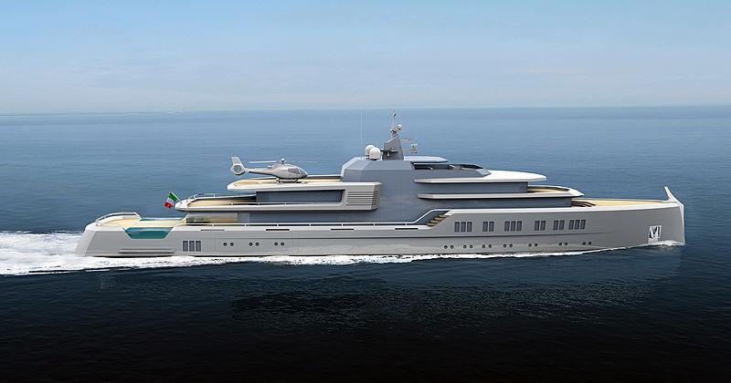 Oniric yacht concept