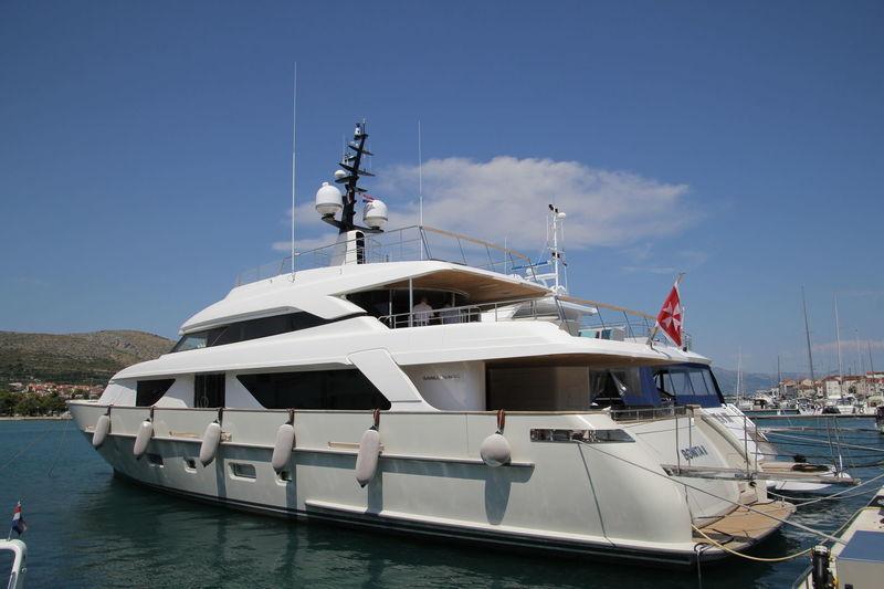 Bonita II in Trogir, Croatia