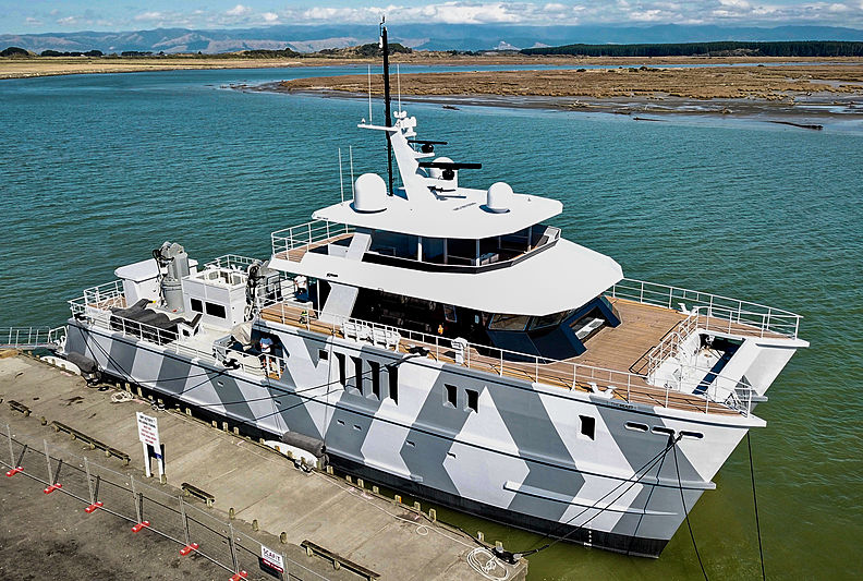 THE BEAST  yacht Profab Central Engineering Ltd