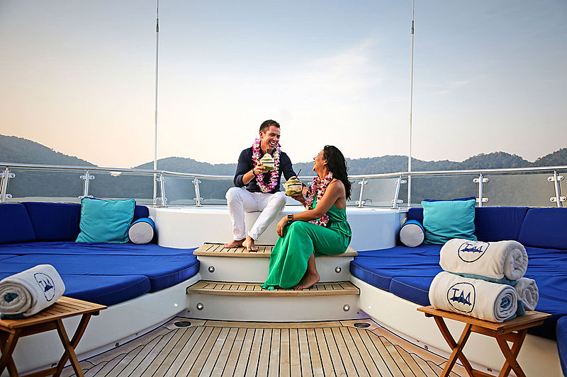 Tailisman Maiton yacht deck