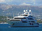 Altitude yacht cruising off Antibes