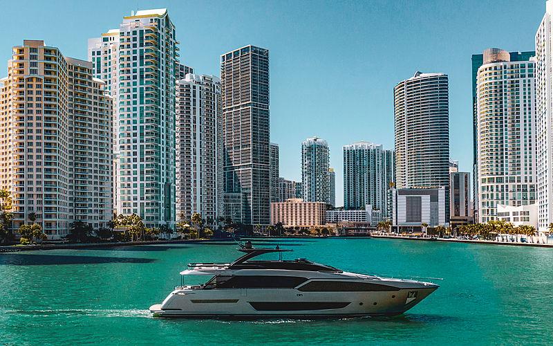 Riva 90 Argo yacht in Miami
