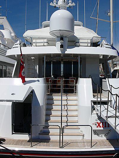 Thirteen yacht in Cannes