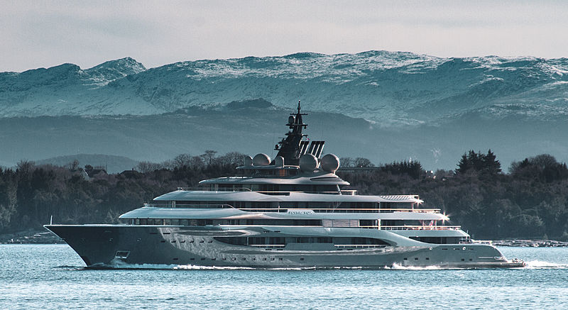 Flying Fox yacht by Lürssen in Stavanger