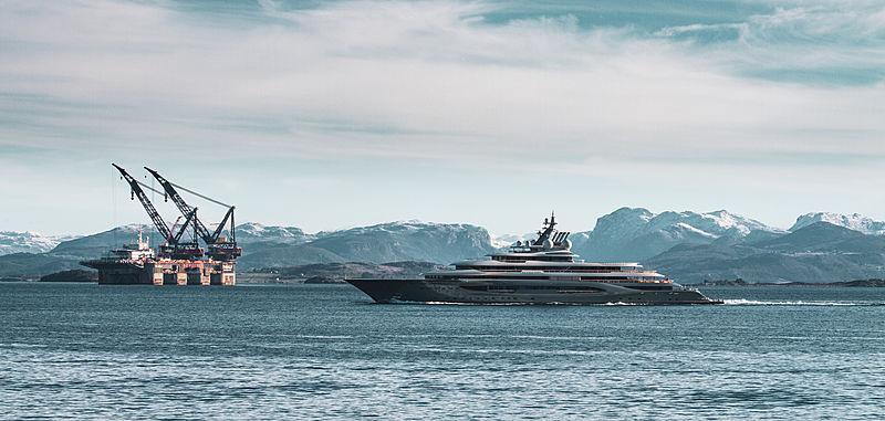 Flying Fox yacht by Lürssen in Stavanger