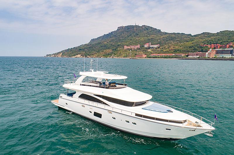 Johnson 80 yacht in Taiwan