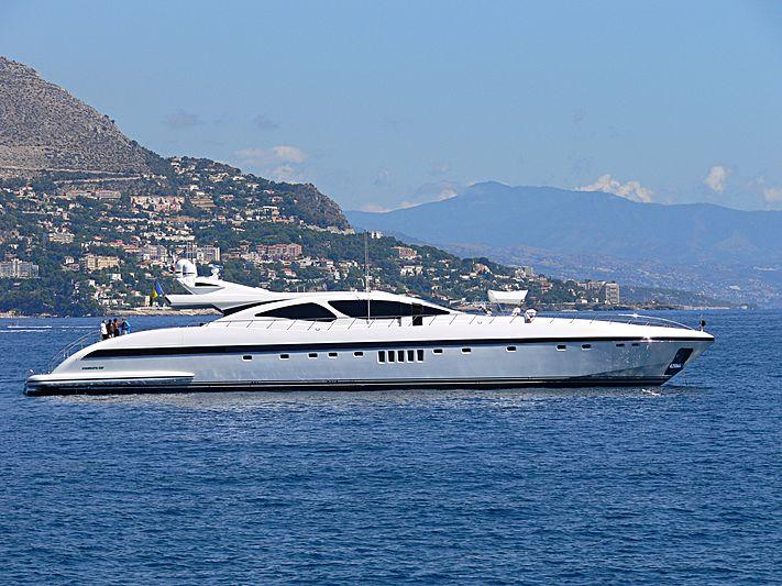 MRS GREY yacht Overmarine
