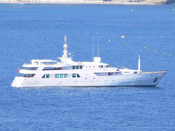 SHAF yacht CRN