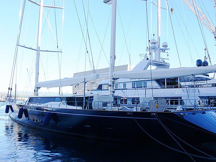 SQUALL yacht Perini Navi