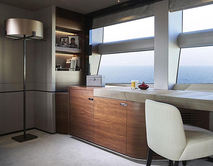 Samba yacht interior